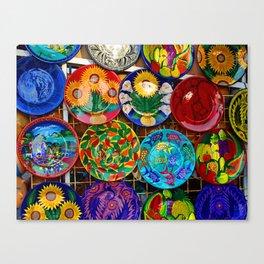 Fiesta Colors Canvas Print