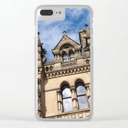 pennine gothic - bradford city hall Clear iPhone Case
