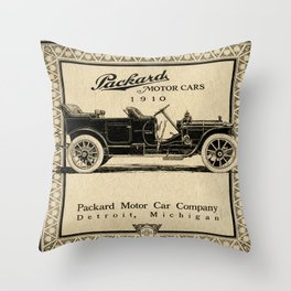 Pachard - Vintage Poster Throw Pillow