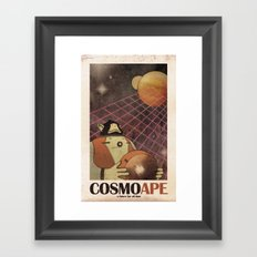 CosmoApe Framed Art Print
