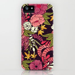 Jungle Pattern 001 iPhone Case