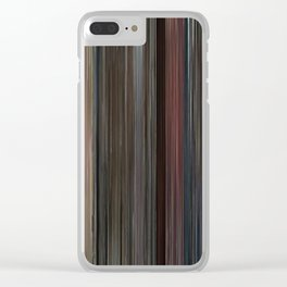 Good Will Hunting Movie Barcode Clear iPhone Case