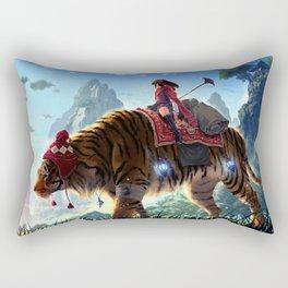 Karma Journey Rectangular Pillow