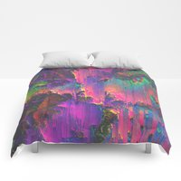 Comforters featuring ACID by Malavida