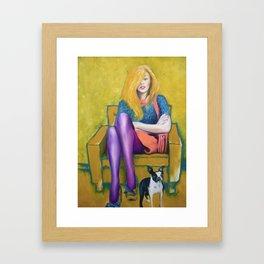 waitingroom 2011 Framed Art Print
