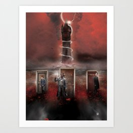 To the Dark Tower Came (Variant) Art Print