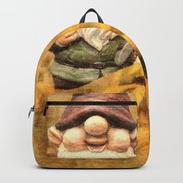 Gnomes in The Daisies Backpack