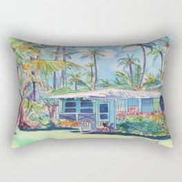 Kauai Blue Cottage 2 Rectangular Pillow