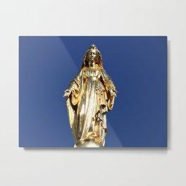Notre Dame de Lourdes Metal Print