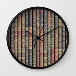 Keep Reading Wall Clock