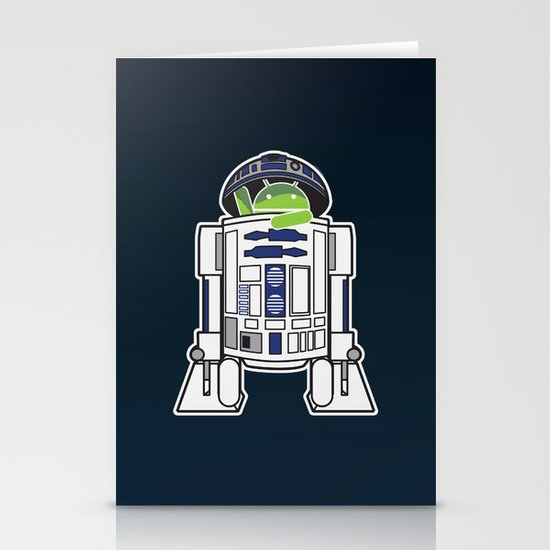 A Droid in you Droid Stationery Cards
