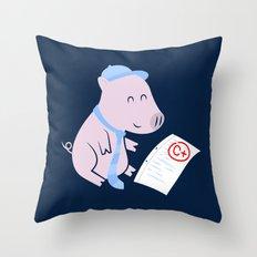That'll Do Pig. Throw Pillow