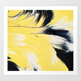 Hello  Yellow ! Art Print