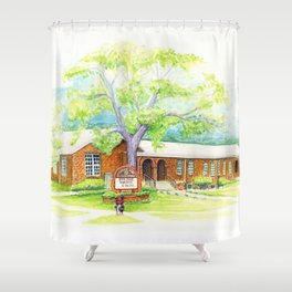 OPE Shower Curtain