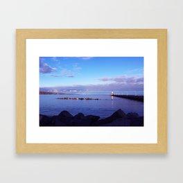 North Pier Framed Art Print
