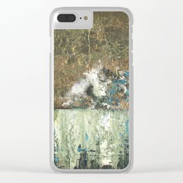 Tarnished Revisited Clear iPhone Case