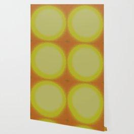Yellow and Orange Fuzz Wallpaper