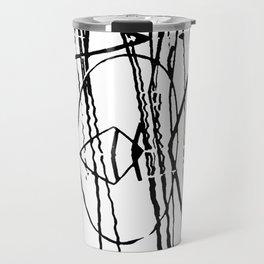abstract Travel Mug