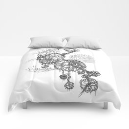 Steampunk home Comforters