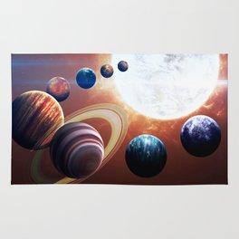 Planets Road Trip Rug