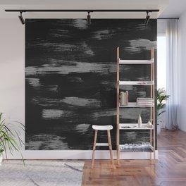 Brushstrokes Abstract Minimalism #1 #minimal #decor #art #society6 Wall Mural