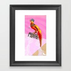 >>BOOMBOXBYRD Framed Art Print