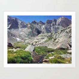 Longs Peak Colorado Art Print