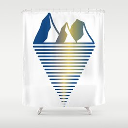 Mountain & Inlet Shower Curtain