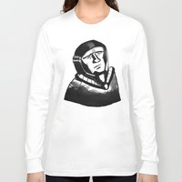 spaceman Long Sleeve T-shirts featuring SpaceMan by Juicebox Farley