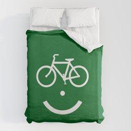 Bike Lane :) Duvet Cover