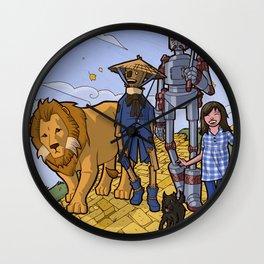The Wonderful Wizard of Oz Wall Clock