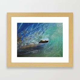 Aliso Curl Framed Art Print