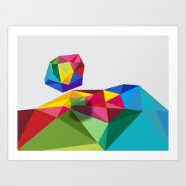 Geometric - Landscapes 4/4 Art Print