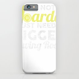 No Hoarder Need Bigger Sewing Room Quilter GIfts Apparel iPhone Case
