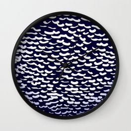 Under the Sea collection - French Angelfish Wall Clock