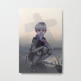 A Real Boy Metal Print