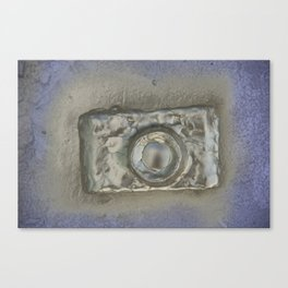 Gold Camera, No. 3a Canvas Print