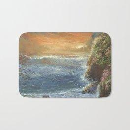 Sunsest Sea Bath Mat