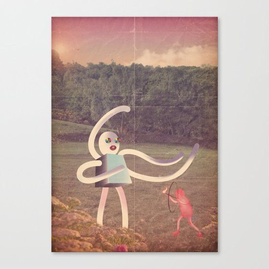 ri_controller24 Canvas Print
