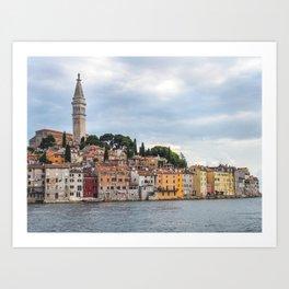 Rovinj, Croatia Art Print
