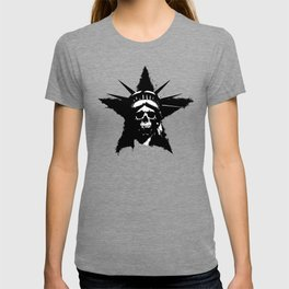 Statue of Liberty Skull T-shirt