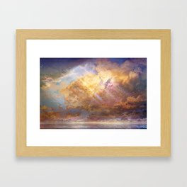 Sky-High Framed Art Print