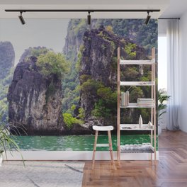 Cliffs in Thailand Fine Art Print  • Travel Photography • Wall Art Wall Mural