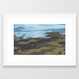 Big Cottonwood Canyon Framed Art Print