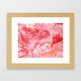 DREVM FLOWER (color) Framed Art Print