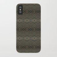 metallic iPhone & iPod Cases featuring Metallic by Sarah McMahon