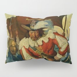 """""""Stand and Deliver"""" Pirate Art by NC Wyeth Pillow Sham"""