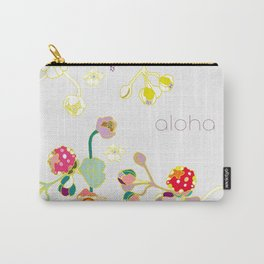 Aloha Volcano Raspberry Carry-All Pouch