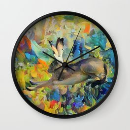 Hareplane Wall Clock