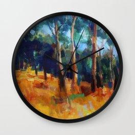 Picnic at Hanging Rock Wall Clock